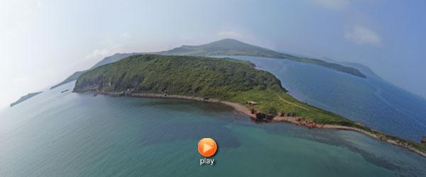 Мыс Ликандера, остров Попова, архипелаг Императрицы Евгении
