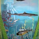 Стенд рыб