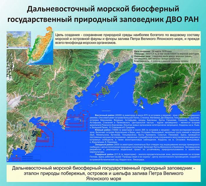 Зал 7. «Дальневосточный морской биосферный заповедник»
